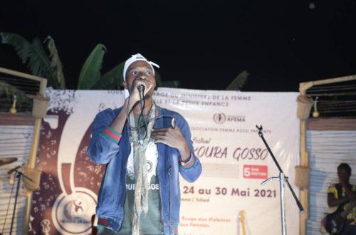 Article : Le slameur nigérien Joël Gandi et les passeurs de mots de N'Djaména sur la scène du Festival Koura Gosso