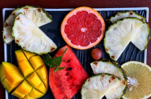 Article : Cinq fruits, cinq amours de ma vie