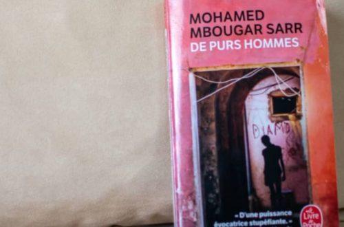 Article : Littérature. «De purs hommes», de Mohamed Mbougar Sarr