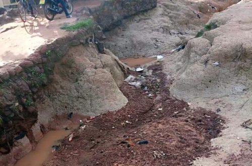 Article : Saison des pluies au Burkina : le réseau routier n'est pas à la hauteur
