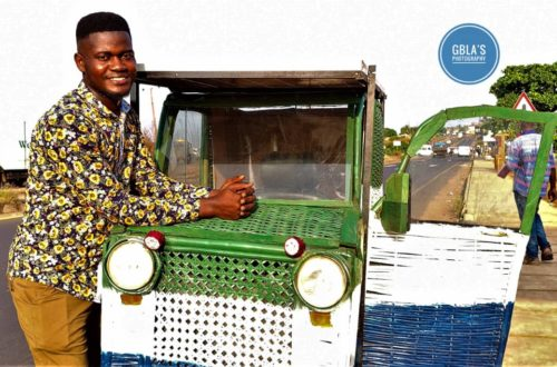 Article : L'Imagination Car, voiture solaire made in Sierra Leone