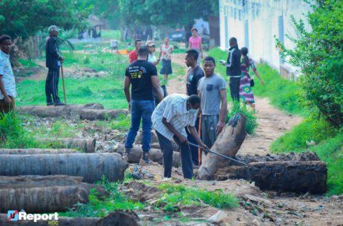 Article : Kasaï-Oriental : les jeunes de la communauté U-Report mobilisés pour l'assainissement du milieu