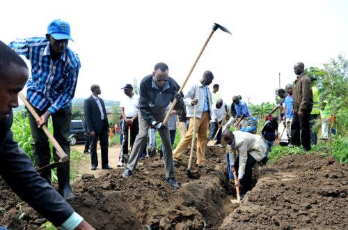 Article : Umuganda au Rwanda, l'exceptionnel rendez-vous du nettoyage