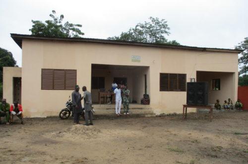 Article : Santé Sud installe un médecin dans son cabinet médical communautaire à Kakara, au Bénin