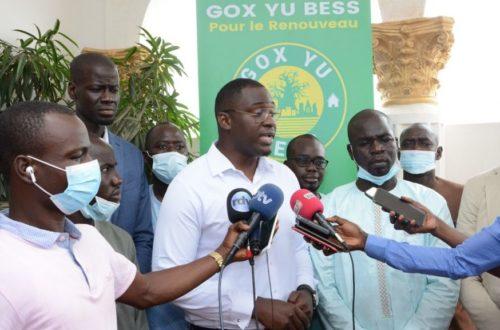 Article : Sénégal : des jeunes leaders lancent la coalition «Gox Yu Bess» pour les prochaines élections municipales