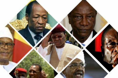 Article : Exercice du pouvoir d'État en Afrique noire : Top 7 des humiliés