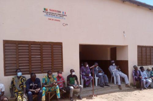 Article : Le bien-être se rapproche des habitants de Kparo, grâce à l'ONG Santé Sud