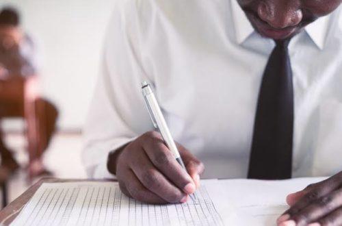 Article : Bac 2021 : Ce jeudi, RDC en blanc et pleurs