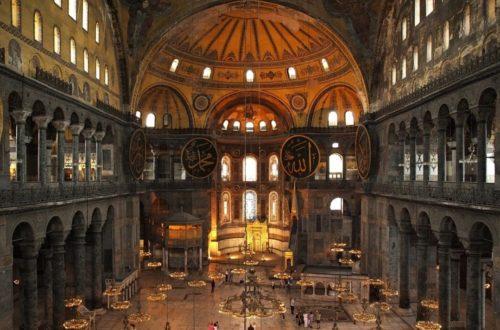 Article : Sainte-Sophie, l'enjeu triple pour Erdogan