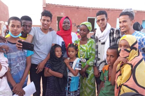 Article : Éloquence 2021, les jeunes réfugiés du camp Mberra s'initient au concours de l'oralité