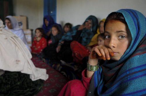 Article : Salut à toi jeune afghane
