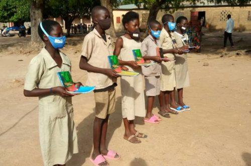 Article : La mairie des jeunes de Parakou récompense quelques meilleurs écoliers